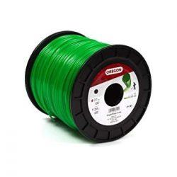 Damil 2.4 mm kerek Oregon 441 m zöld