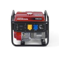 EM 2300 Honda motoros 230 V egyfázisú áramfejlesztő