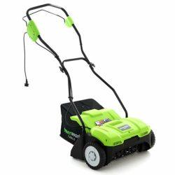 Greenworks GDT 35 elektromos gyepszellőztető