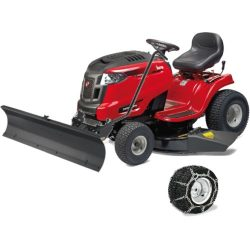 MTD OPTIMA LG 200 H oldalkidobós fűnyíró traktor tolólappal hólánccal
